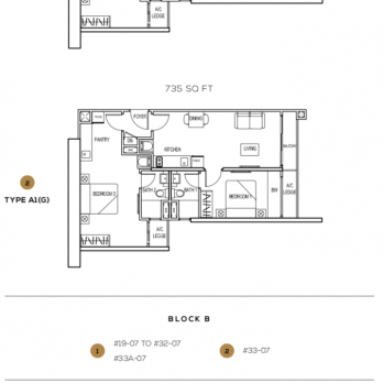 the-luxe-by-infinitum-klcc-layout-plan-Type-A1-&-type-A1(G)-805-sq-ft-&-735-sq-ft